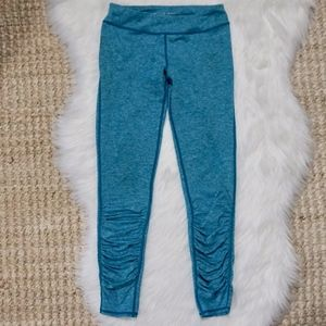 Zella Girl's Leggings Size 10/12 Teal and White